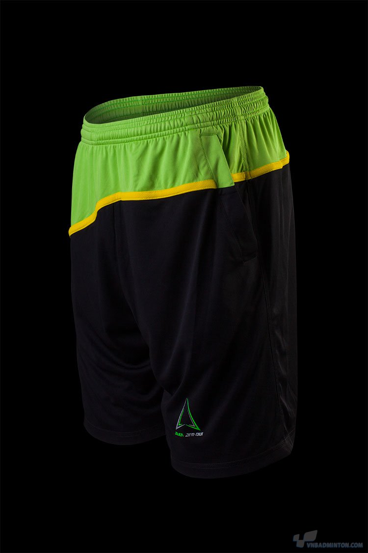 Men's Irona I Tennis Shorts S001 Green_front.jpg